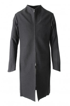 DEVOA17-18AW Fascinate Limited Coat Wool Hight twist Hound's Tooth