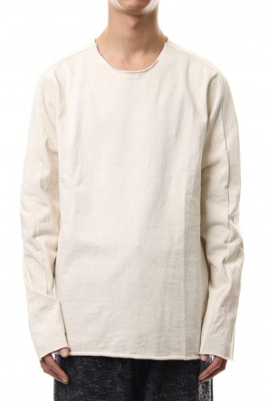 WARE 19-20AW Aegean Sea Cotton  L/S T-Shirts Off White