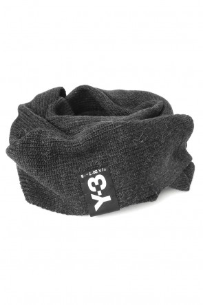 Y-3 17-18AW Badge Scarf