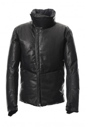 ISAAC SELLAM 18-19AW Leather Down Jacket PEINARD