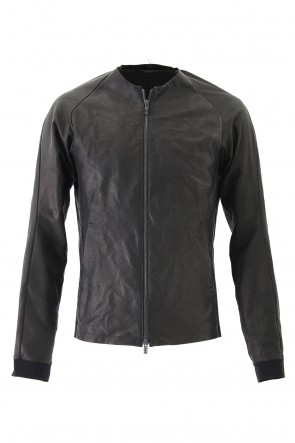 DEVOA 18SS Jacket Deer Leather Black
