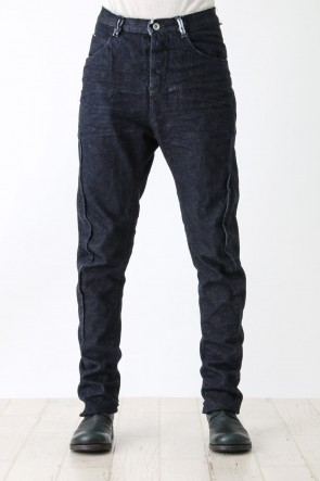 individual sentiments 16SS Light Ounce Denim Seamed Slim Pants - PA63-DE2