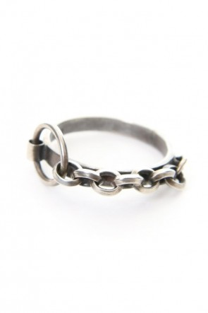 iolom Classic Chain Texture Ring - io-01-132