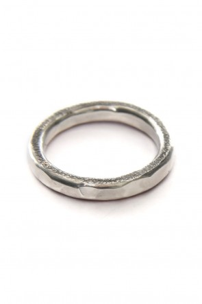 iolom Classic Karakami hammered Ring 3.5mm - io-01-150-B
