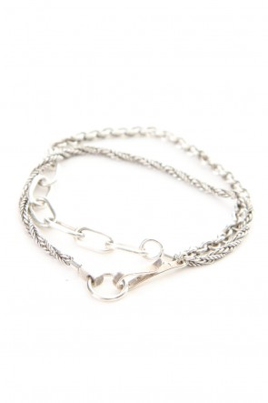 iolom Classic Triple Combination Chain Bracelet - io-02-081