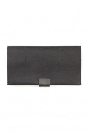 iolom Classic Cow Leather Long Wallet A - Havana Leather