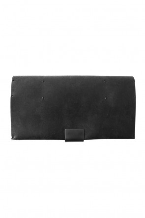 iolom Classic Cow Leather Long Wallet-B