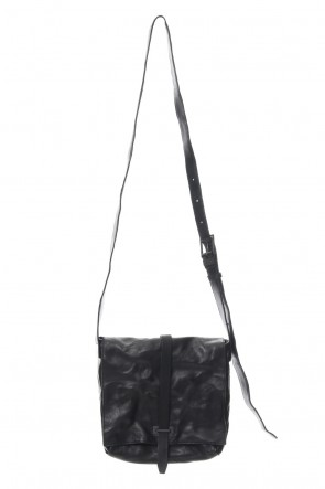 iolom Classic MーBelt hold flap shoulder bag