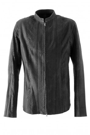 ISAAC SELLAM 17-18AW Anaconda Leather Jacket  - KRAVITZ