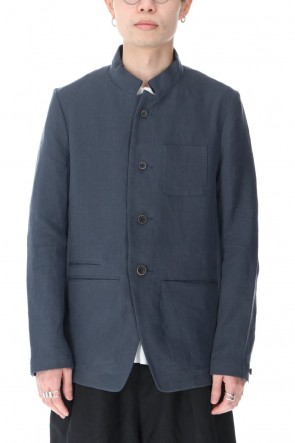 individual sentiments21SSUNISEX WOVEN STAND COLLAR BUTTON DOWN JACKET