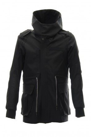 DEVOA 19SS Hooded Jacket High Density Silk