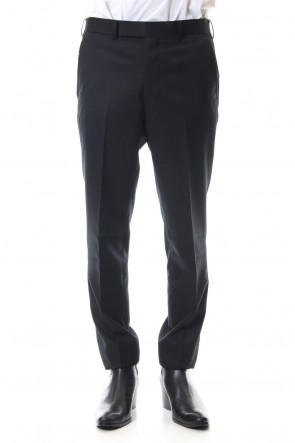 JOHN LAWRENCE SULLIVAN 19-20AW WOOL SKINNY TROUSERS