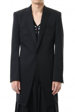 kiryuyrik 20SS Long Peacked Jacket
