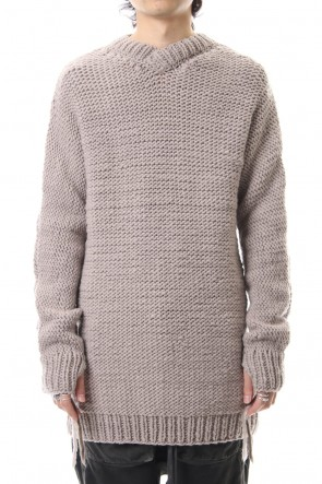 BORIS BIDJAN SABERI 19-20AW KN9 - Light Gray - VR2