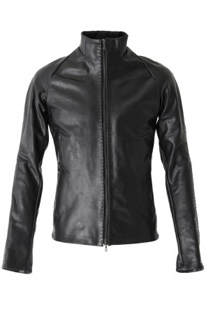 DEVOA 18-19AW High Neck Jacket Calf Leather