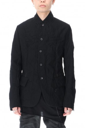 masnada 20-21AW SCRUNCHED JACKET