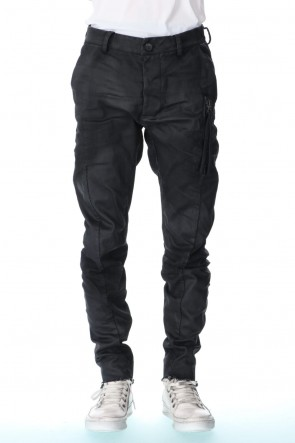 masnada 20-21AW VERTICAL ZIP POCKET JEANS