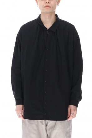 GARMENT REPRODUCTION OF WORKERS 21SS Maquignon Shirt Black