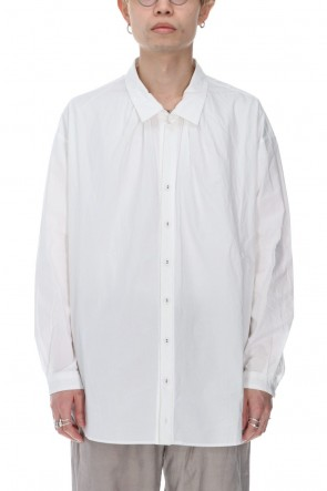 GARMENT REPRODUCTION OF WORKERS 21SS Maquignon Shirt White