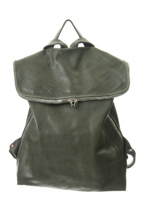 Guidi 19-20AW Large Belted Backpack Soft Horse Full Grain Leather CV31T