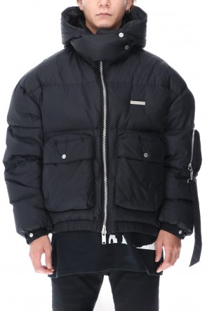 TATRAS × RIOT HILL20-21AWHooded Cargo Down jacket