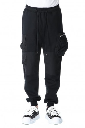 TATRAS × RIOT HILL20-21AWFrench terry Cargo Sweat pants