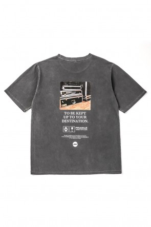 NIL DUE / NIL UN TOKYO 19SS TOUR RACK TEE Used Gray