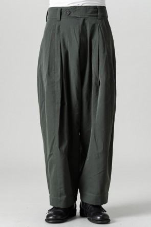 ZIGGY CHEN21-22AWPleated Drop Crotch Trousers