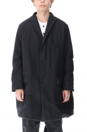 GARMENT REPRODUCTION OF WORKERS 20-21AW Pauvre Coat Noir