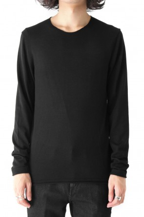 Neil Barrett 17-18AW SILK CASHMERE WOOL CUT SEW