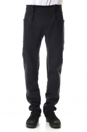 WARE 19-20AW Heavy Jersey pants Black
