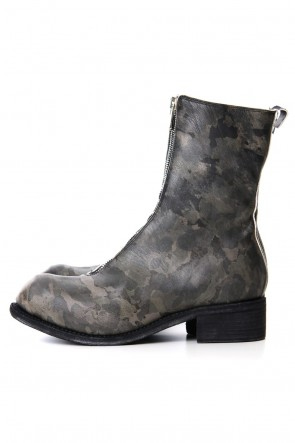 Guidi19SSLimited Long Front Zip Boots - Horse Full Grain Leather - METRO
