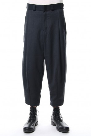 DEVOA 18-19AW Cropped Pants Wool Gabardine