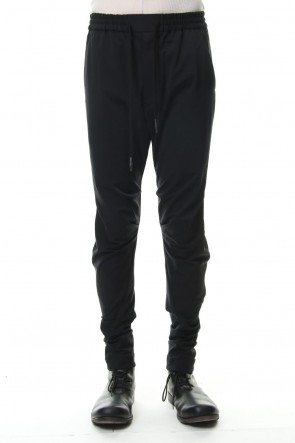 DEVOA 19SS Jodhpurs Pants Silk Nylon Stretch - Black