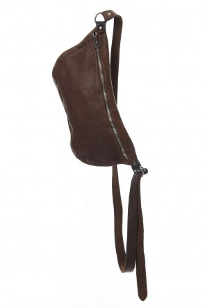 Guidi 18-19AW Body Bag Soft Horse Full Grain - Q10 - Brown