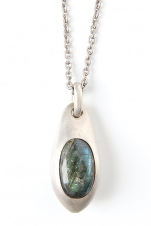Parts of Four 19-20AW Chrysalis Necklace (Cremaster Emergence, Labradorite, DA+LAB)