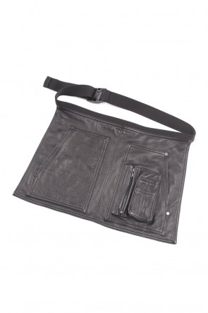 RIPVANWINKLE 20-21AW EXCLUSIVE LEATHER APRON