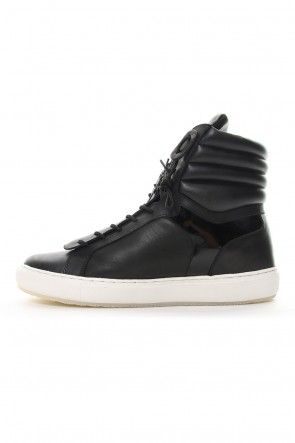 RIPVANWINKLE 18-19AW FRONT ZIP HIGH CUT SNEAKERS RB-005