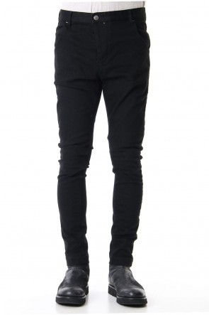 RIPVANWINKLE 19-20AW DEEP COLOR JEANS Deep Black
