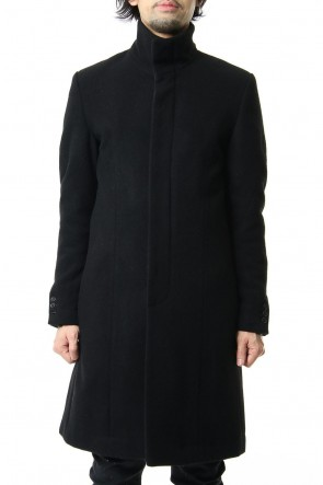 RIPVANWINKLE 19-20AW CHESTER COAT Black