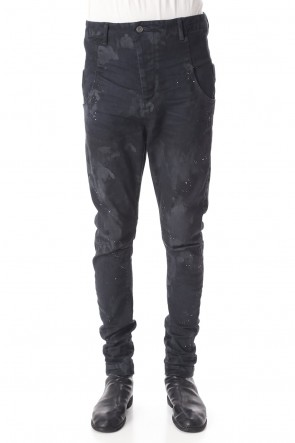 RIPVANWINKLE 20-21AW NEW DUST JEANS Dust Black