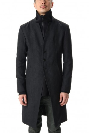 RIPVANWINKLE 20-21AW NOTCHEDLESS COAT