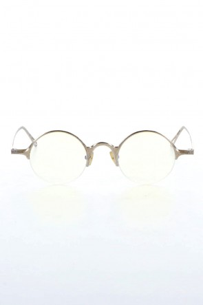 RIGARDS 21SS RG0091AG ZIGGY CHEN x RIGARDS 925 Silver Sterling Textured Clear Lens