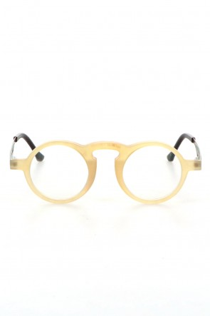 RIGARDS 21SS UW0008 UMA WANG x RIGARDS Genuine Horn Amber Clear Lens