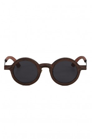 RIGARDS21-22AWG0161ZC ZIGGY CHEN collaboration Bamboo paper Coated Horn Flame  Dark Gray Lens