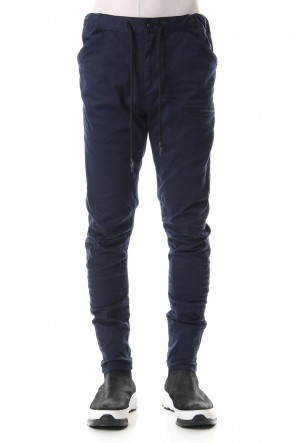 RIPVANWINKLE 20SS SLIM EASY PANTS Navy