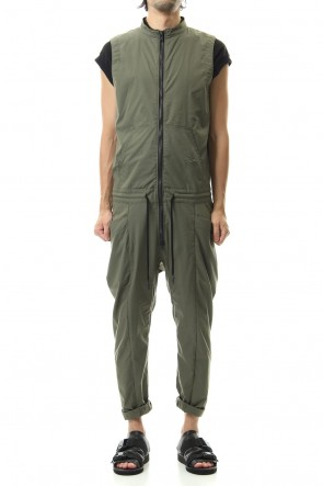 RIPVANWINKLE 20SS ALL IN ONE JODHPUR Khaki