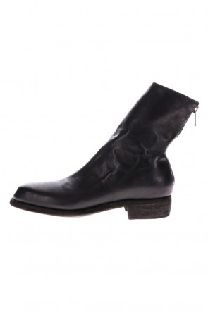 Guidi 20-21AW BACK ZIP BOOTS Horse  Full Grain Leather