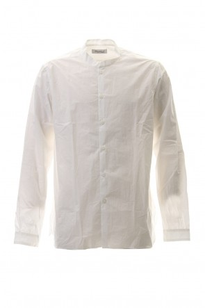 Bergfabel 20SS Large Short Tyrol Mao Collar Shirt