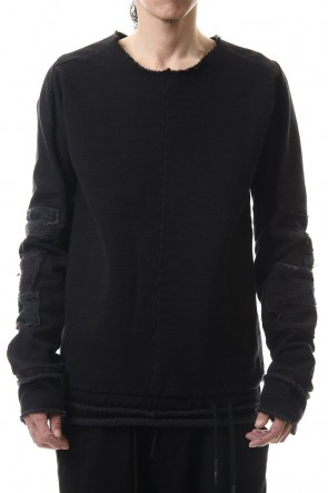 SADDAM TEISSY20-21AWHeavy cotton jersey Crust pullover